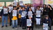 Members of UFCW Local 400, who along with 25,000 other grocery workers, are preparing to strike in D.C. (UFCW Local 400)