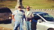 (Payday Senior Labor Reporter Mike Elk with Volkswagen union activist Lon Gravett at Orchard Knob battlefield in Chattanooga, Tennessee).