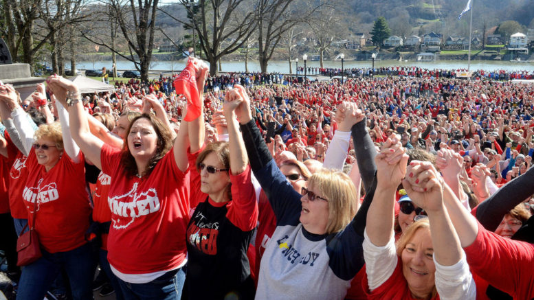 Settling West Virginia Teachers Strike Could Hinge On Taxing