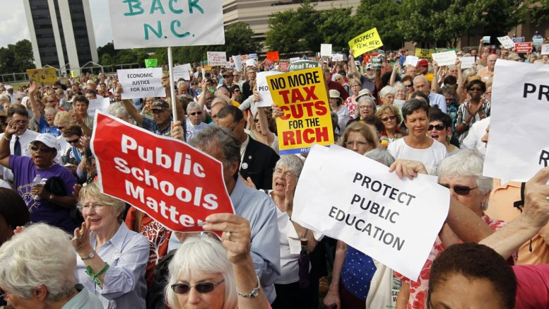 NC lawmakers react to teacher rally