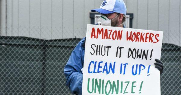"Amazon Offers $2,000 ""Resignation Bonuses"" to Bust Union Drive in Alabama"